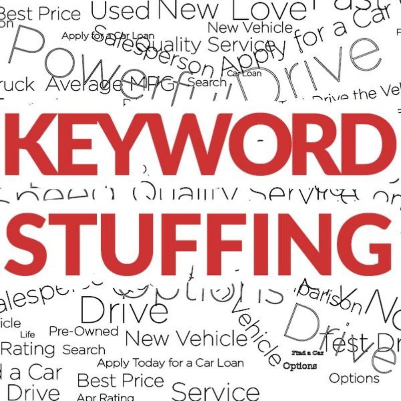 Tránh nhồi nhét từ khoá (keyword stuffing).