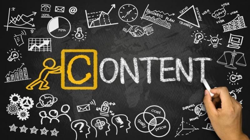 Content chính là linh hồn của một bài viết.