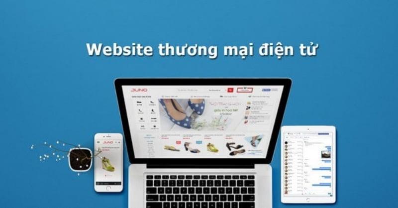 Website thương mại điện tử.