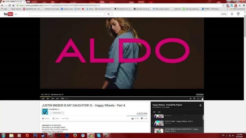 Quảng cáo trong Video của Youtube